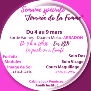 journee-femme-offres-soin-maquillage-vestimentaire-style-anaki-luxfeminae-morbihan